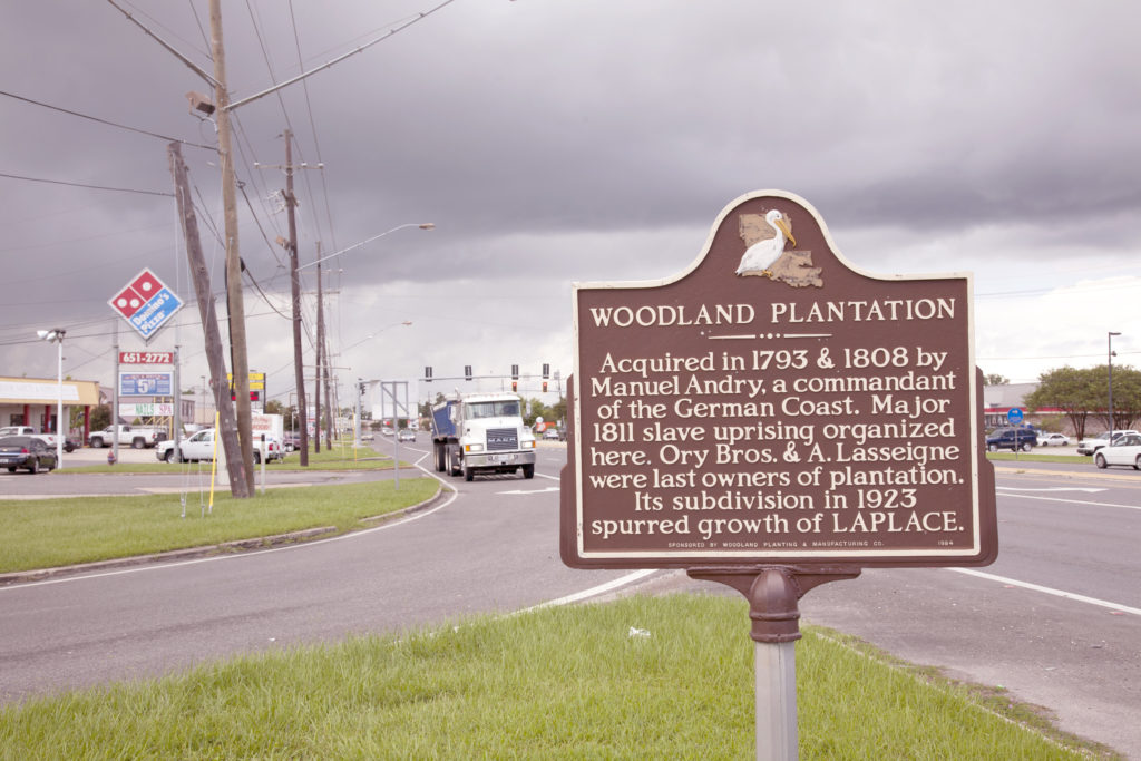 Andry Plantation Historic Marker in LaPlace