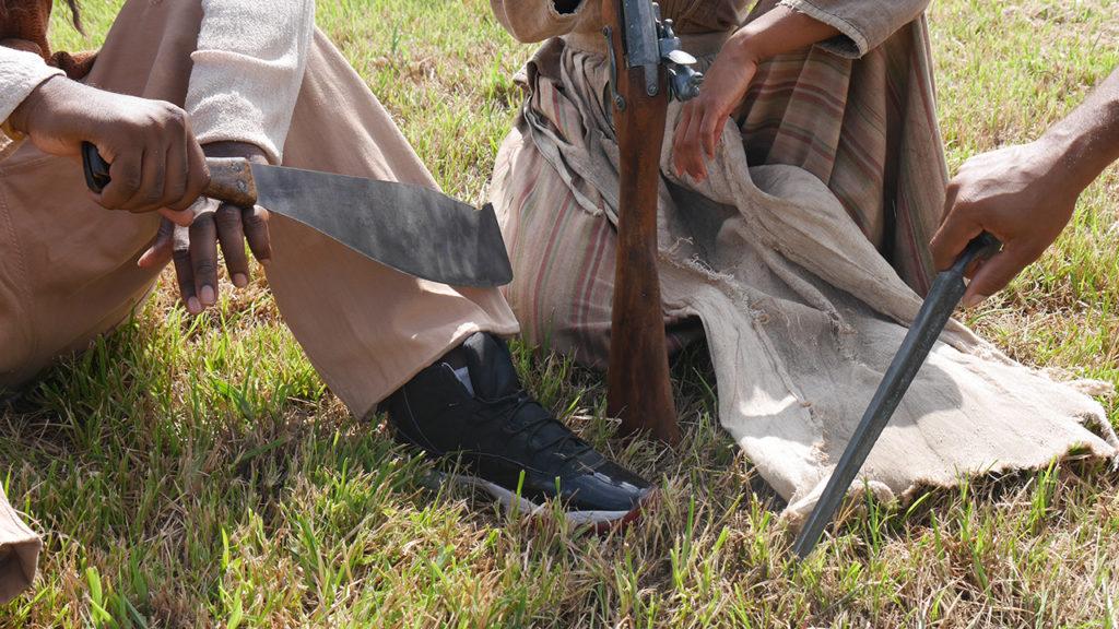 Photo by Slave Rebellion Reenactment